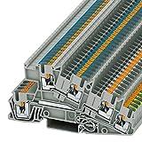 PHOENIX CONTACT Installationsschutzleiterklemme PTI 2,5-PE/L/N, 50 Stück, 3213950