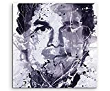 Dexter Morgan Art Picture 60 x 60 cm Art Picture Photo Canvas Direct from Artist on Stretcher Frame - Paul Sinus Art - amazon.co.uk
