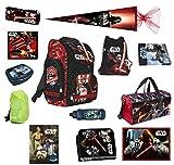 Star Wars Schulranzen Set 21-tlg. Sporttasche