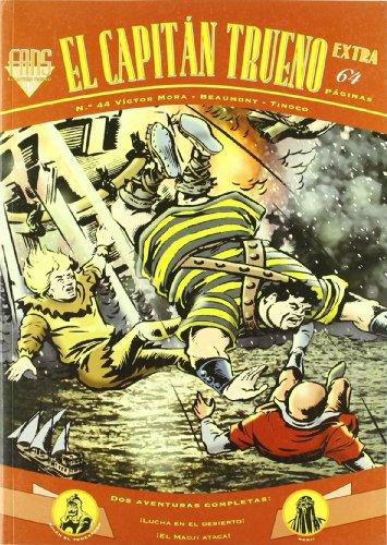 Dos aventuras completas: ¡Lucha en el desierto! | ¡El Madji ataca! (Fans El Capitán Trueno 44) (Bruguera Clásica) por Víctor Mora