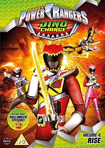 Power Rangers Dino Charge: Rise (Volume 4) Episodes 13-17 (Incl. Halloween Special) [DVD] [UK Import]
