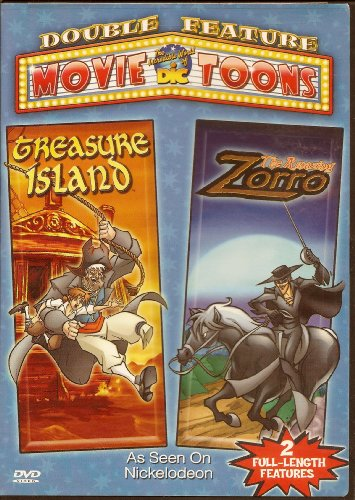 the-amazing-zorro-treasure-island-double-feature