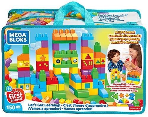 Mega Bloks Sac Construction Deluxe, 150 briques, jouet pour...