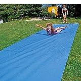 Sport Thieme Wasserrutschbahn für Kinder und Erwachsene im Garten | Premium Qualität aus reißfester, strapazierfähiger Folie (1mm Plane) | Anschluss für Gartenschlauch zur Berieselung 1/2