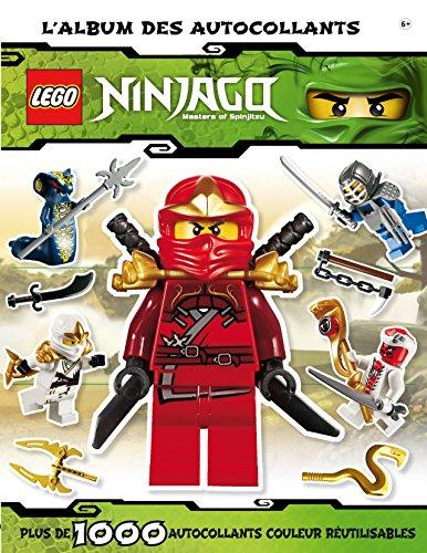 Lego ninjago, l'album autocollants par Collectif