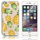 iPhone 6S Plus Silikon Hülle,iPhone 6 Plus Hülle,Sunroyal TPU Case Schutzhülle Silikon Crystal Kirstall Clear Case Durch