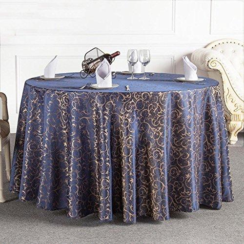 LYD® Tischdecke Tuch Europäische Art runde lichtdurchlässige Tischdecke wasserdichtes Ölsicheres weiches staubdichtes Tischtuch , blue , - Clip-art-halloween Owl