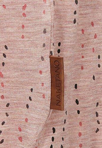 Naketano Female Shortsleeve ADA Shelby Pastel Pink Melange
