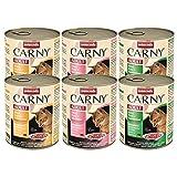 Animonda Carny Adult Mix2| 6X 800gr Katzenfutter nass