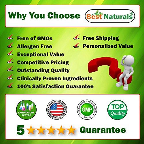 61IWTf69iDL. SS500  - Best Naturals Astaxanthin 10 mg 60 Softgels