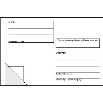 wei/ß A6 quer, selbstklebend, 10 Aufkleber Avery Zweckform 2826 Adressaufkleber-Heft
