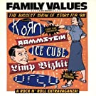 Family Values;The Biggest Show Of Stars For 98