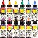 Chefmaster Air Brush Color Variety Pack, Twelve 2 oz. bottles by Chef-Master