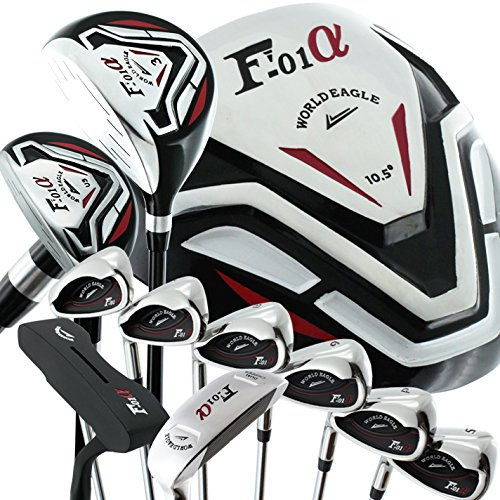 World Eagle f-f-01 Alfa Herren Golf-Set ohne Tasche links flex-s 13 (Herren Link Flex)