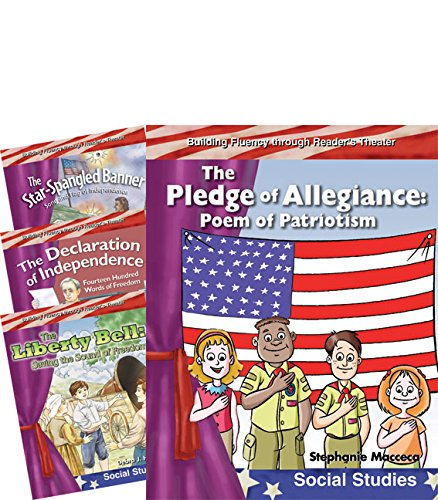 Reader\'s Theater: My America Set 2 4-Book Set (Teacher Created Materials Library - Reader\'s Theater)