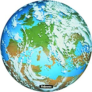 Fellowes Round Brite Mat Mouse Pad Earth Amazon Co Uk