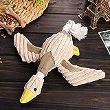 Tofern Plüschspielzeug Quietschspielzeug Kauspielzeug Zahnknoten Knotentau Spielzeug Hund Katze, Ente