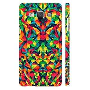 Samsung Galaxy A3 Abstract est designer mobile hard shell case by Enthopia