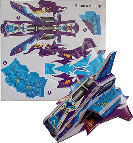 12-navicelle-spaziali-da-montare-3d-gioco-per-festa-riempitivo-fai-da-te