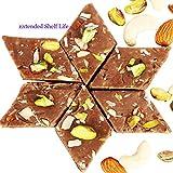 Ghasitaram Gifts Diwali Gifts Diwali Sweets - Chocolate Kaju Katli 800 Gms