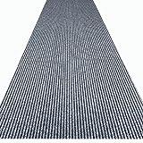 havatex Küchenteppich/Küchenmatte / Teppichläufer Event - schadstoffgeprüft | pflegeleicht strapazierfähig schmutzabweisend | Küche Flur Büro Eingang Diele, Farbe:Grau, Größe:100 x 250 cm