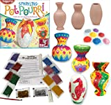 Ceramic Pot Potpourri Art & Craft Painting Kit Girls Hobby Gift Ideas Birthday Christmas