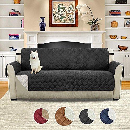 Umiwe copridivano tre posti 2 posti fodere saver sofa 3 posti impermeabile copri divani antiscivolo poltrone fodera trapuntato con blu marrone borgogna nero