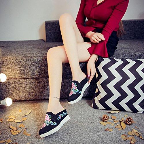Icegrey - Pantofole Donna Nero