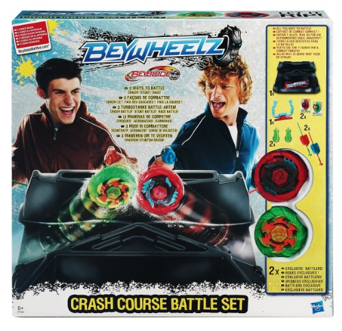 Hasbro 37364186 - Beyblade BeyWheelz Crash Course Set