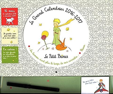 Le Grand Calendrier Le Petit Prince 2016-2017