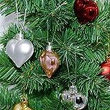 vijtian Enjoy The Christmas, 12 Stück Weihnachtsbaum-Dekoration, Liebeskugel-Dekoration, Requisiten...