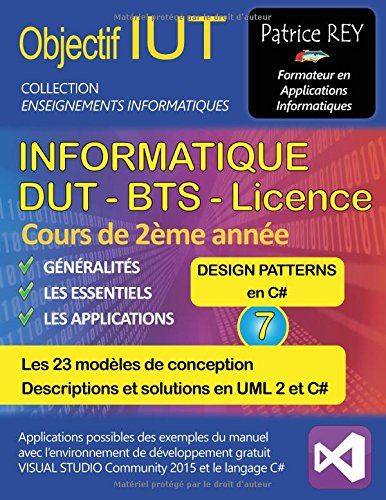 Dut Informatique Design Patterns Tome 7
