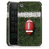 DeinDesign Coque Compatible avec Apple iPhone 3Gs Étui Housse Football Field Goal Sport