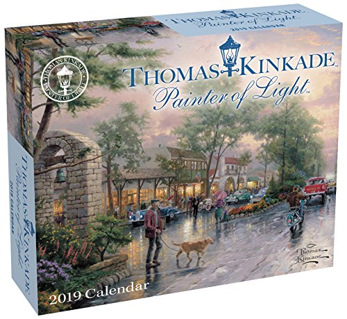 Thomas Kinkade: Painter of the Light 2019: Original Andrews McMeel-Tagesabreißkalender por Thomas Kinkade
