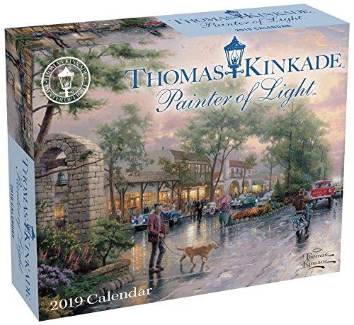 Thomas Kinkade: Painter of the Light 2019 (Tagesabreißkalender)