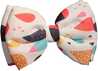 Dog Bow Tie by Lana, Quirky & Cool Dog Fashion Accessory with Easy to use Adjustable Strap - Colour Pop Rain