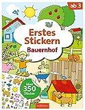 Erstes Stickern Bauernhof (Mein Stickerbuch)