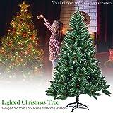 Somedays Künstlicher Weihnachtsbaum Tannenbaum Christbaum inklusive Christbaumständer,Künstlicher Weihnachtsbaum Tannenbaum Christbaum grün Tanne Lena Weihnachtsdekogrün