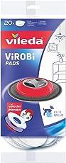 Vileda Virobi Slim Ersatz-Staubpad zur Benutzung mit Virobi Staubwischroboter