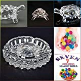 #8: Supermall Imported Crystal Turtle - Tortoise for Feng Shui and vastu - Best Gift for Blessing - With Pond - Pot Best Quality
