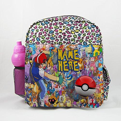personnalisé Pokémon 2Pk02Imprimé animal pour enfant Sac à dos enfants Sac à dos Sac d'école de l'enfant