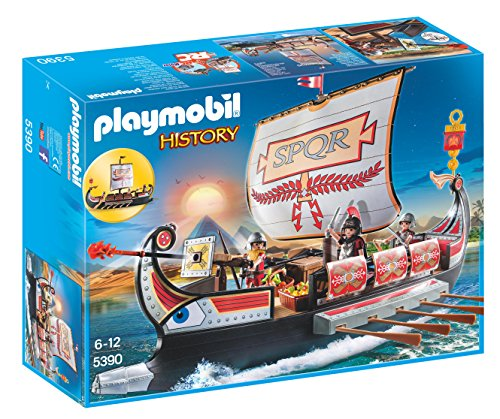 Playmobil 5390 Galea Romana con Rostro