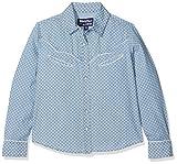Bibi & Tina enfants Chemisier Girls VS. Boys pour pour Western et chemise, bleu jeans, 164