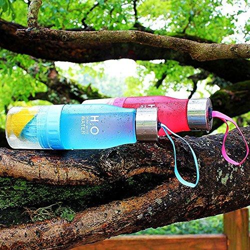 650ml H2O Früchte,-Ei Wasser Flasche Create Your Own–Natürlich nach Honig verwöhnt Wasser, Saft, Eistee, Limonade & Sparkling Getränke Grün