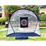 Golf Training net/10.5'(L) x5.5'(W) x8.6'(H) with Target Golf Hitting net pratice in Outdoor & Indoor with Strong Frame
