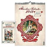Der Märchen-Kalender 2018: Set Wandkalender und Lesebuch - Gebrüder Grimm
