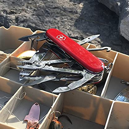 Victorinox 1.4723 Deluxe Tinker Knife Blade, Red, Medium/91 mm 4