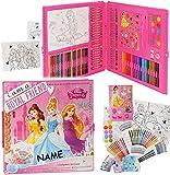 alles-meine.de GmbH 200 tlg. Set: XXL Stifte-Koffer -  Disney Prinzessin - Arielle / Rapunzel  -..
