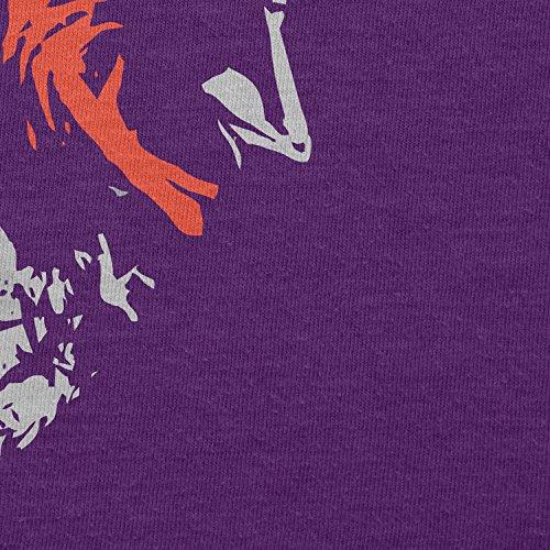 TEXLAB - The Joke Face - Herren T-Shirt Violett