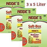 Rhabarber-Nektar 3er-Pack, 3 x 5 Liter